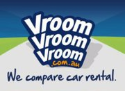 VroomVroomVroom logo car hire